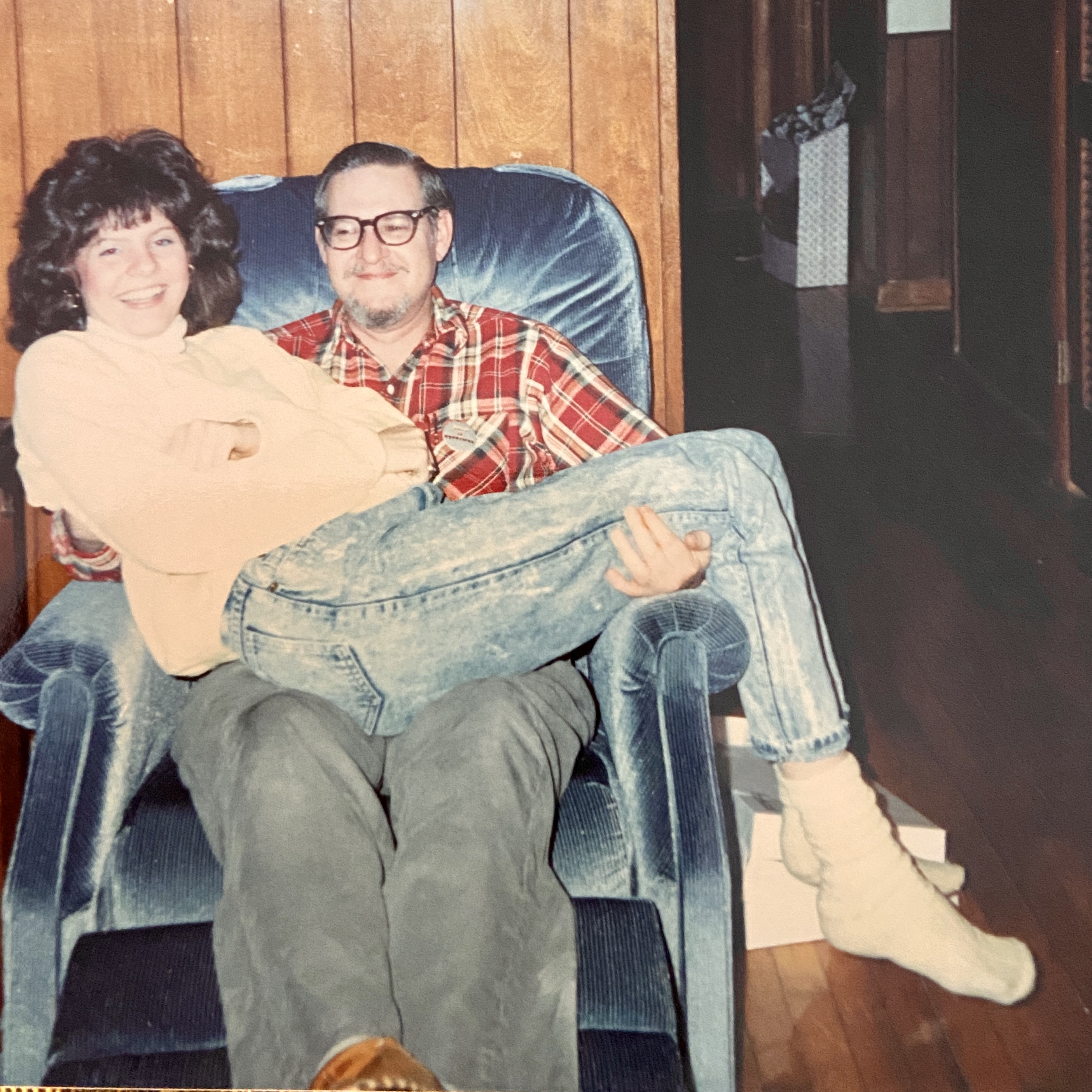 Uncle Lee and Me Circa 1988